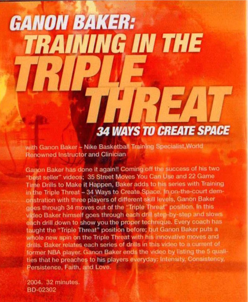 (Rental)-Training In The Triple Threat:34 Ways