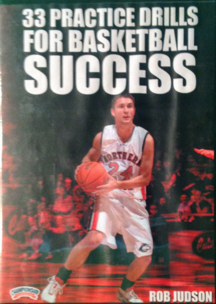 33 Practice Drills For Basketball Success by Rob Judson Instructional Basketball Coaching Video