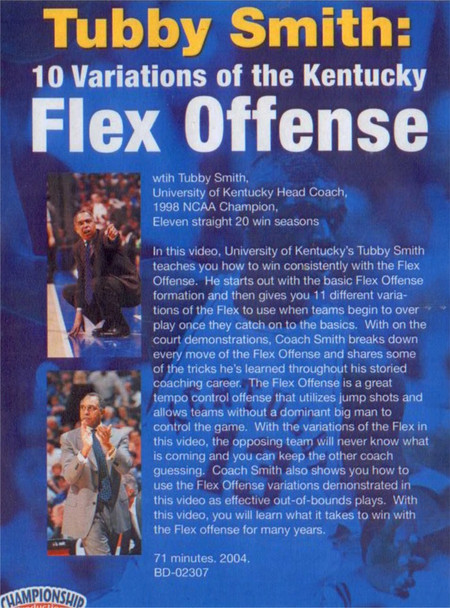 Flex Offense Variations Video DVD