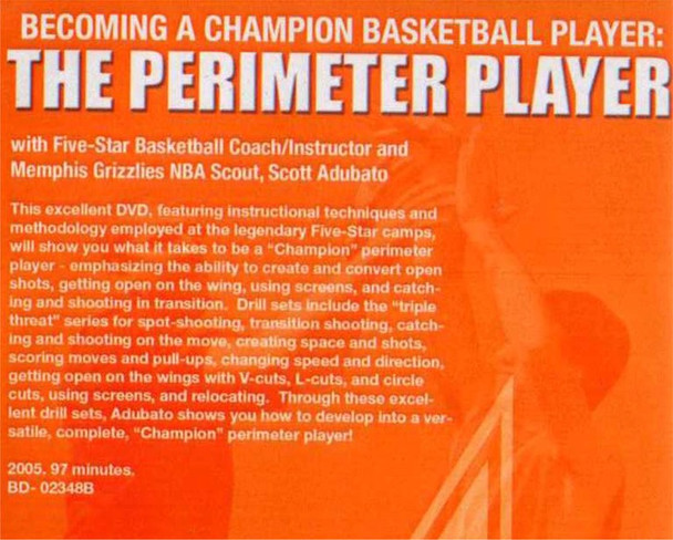 (Rental)-Becoming A Champion:perimeter Player