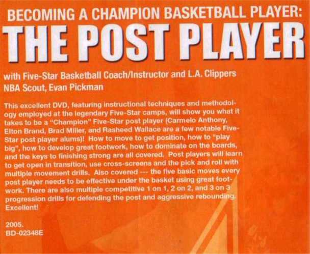 (Rental)-The Post Player