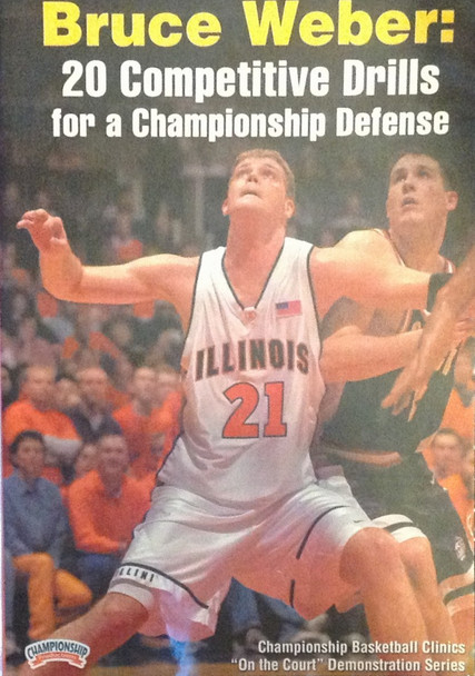 20 Competitive Drills by Bruce Weber Instructional Basketball Coaching Video