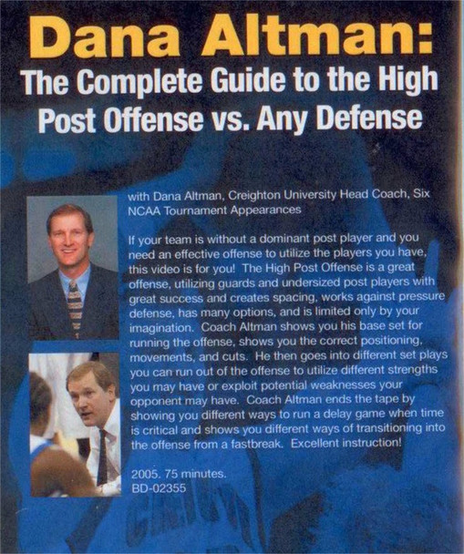 (Rental)-Dana Altman: The Complete Guide To The High Post