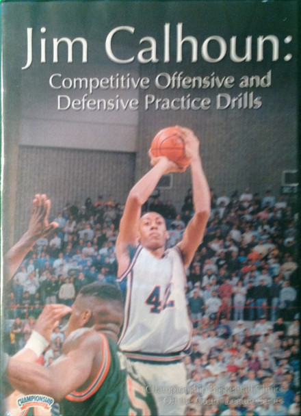 Competitive Offensive And Defensive by Jim Calhoun Instructional Basketball Coaching Video