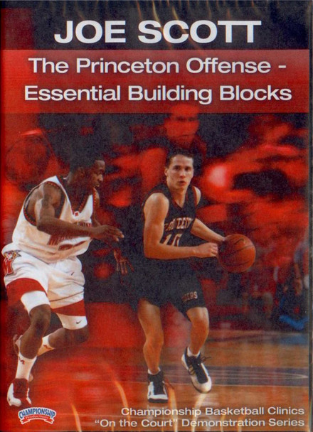 Princeton Offense-- Essential Building by Joe Scott Instructional Basketball Coaching Video
