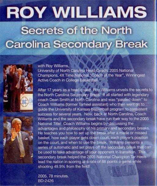 (Rental)-Secrets Of The North Carolina Secondary Break