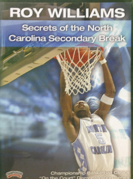 Secrets Of The North Carolina Secondary Break by Roy Williams Instructional Basketball Coaching Video