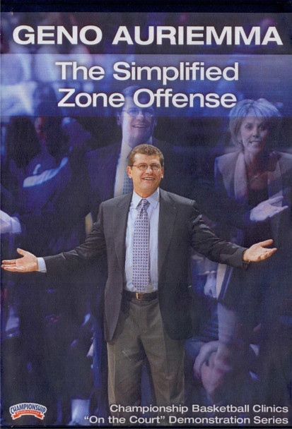 Geno Auriemma: The Simplified Zone by Geno Auriemma Instructional Basketball Coaching Video