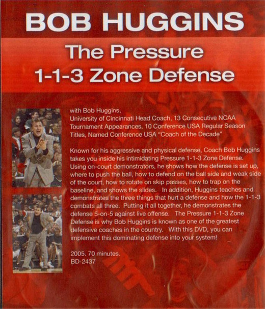 (Rental)-Pressure 1-1-3 Zone Defense