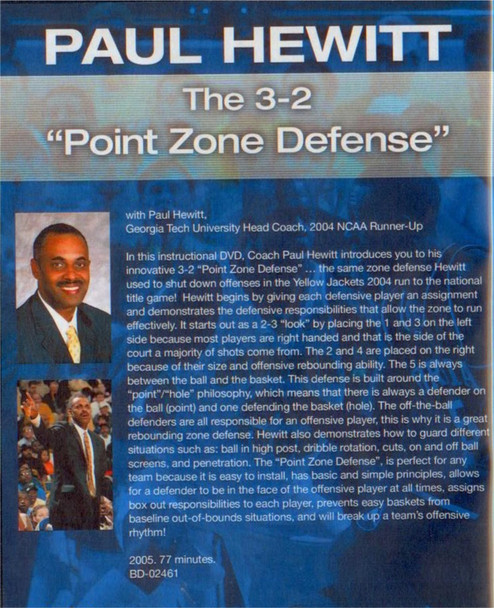 (Rental)-The 3--2 Point Zone Defense