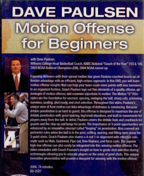 (Rental)-Motion Offense For Beginners