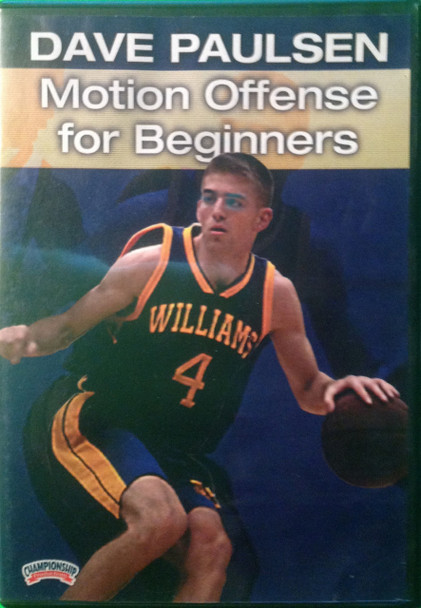 Motion Offense For Beginners by Dave Paulsen Instructional Basketball Coaching Video