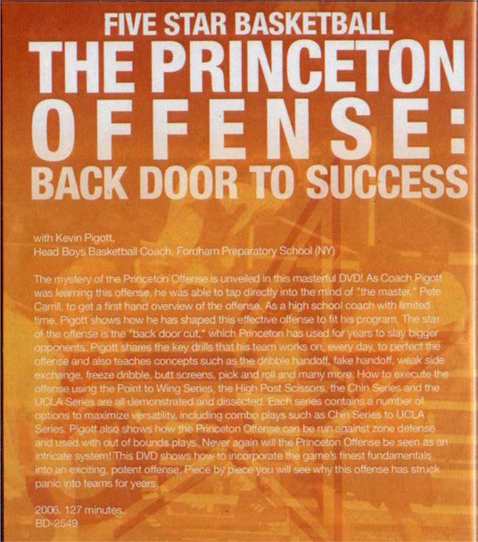 (Rental)-The Princeton Offense: Back Door To Success