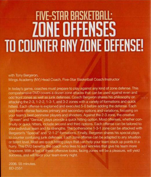 (Rental)-Zone Offense To Counter Any  Zone