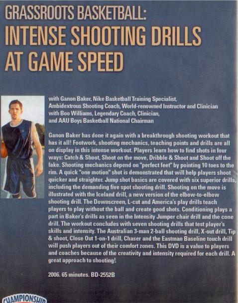 (Rental)-Intense Shooting Drills At Game Speed