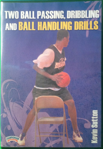 Two Ball Passing, Dribbling & Ball Handling Drills by Kevin Sutton Instructional Basketball Coaching Video