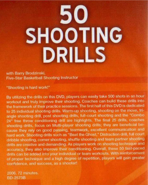 (Rental)-Five Star: 50 Shooting Drills For Both Players And