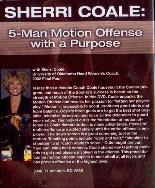 (Rental)-5 Man Motion Offense With A Purpose