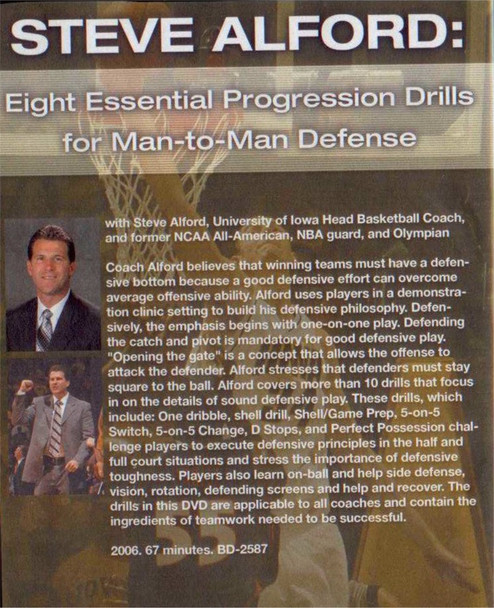 (Rental)-Eight Essential Progression Drills For Man-to-man Defense