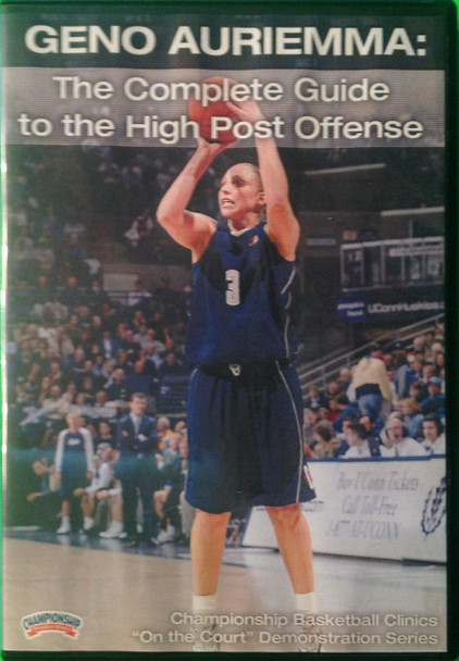 The Complete Guide To The High Post Offense by Geno Auriemma Instructional Basketball Coaching Video