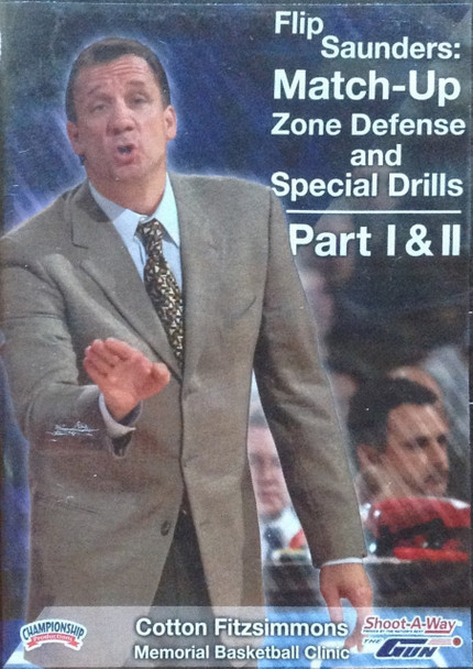 Flip Saunders: Match Up Zone by Flip Saunders Instructional Basketball Coaching Video