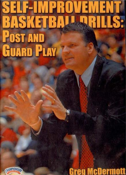 Self--improvement Basketball Drills! Post & Guard by Greg McDermott Instructional Basketball Coaching Video