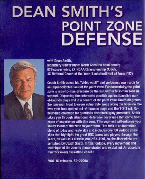 (Rental)-Dean Smith's Point Zone Defense
