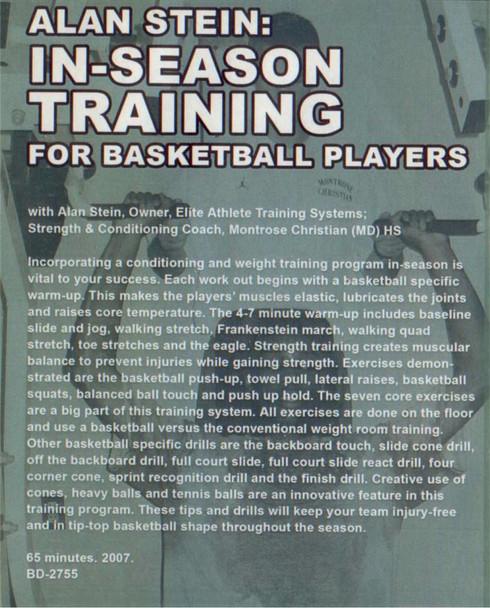 (Rental)-Alan Stein: In--season Training For Basketball