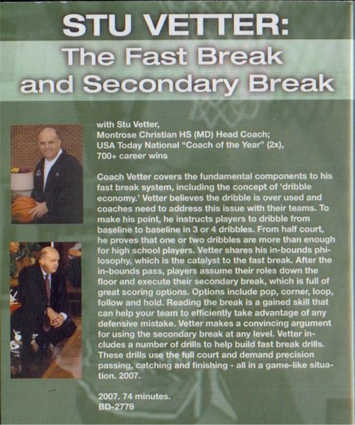 (Rental)-The Fastbreak & Secondary Break