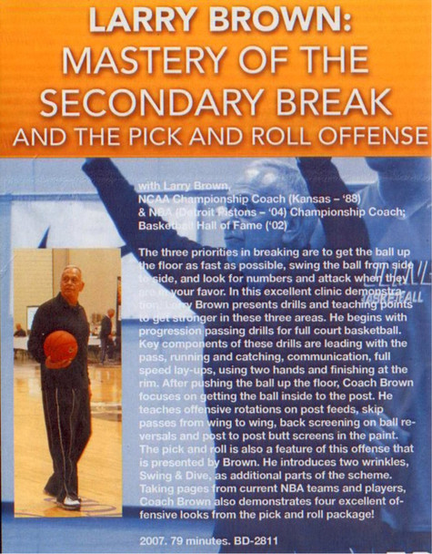 (Rental)-Mastery Of The Secondary Break & Pick & Roll Offfense