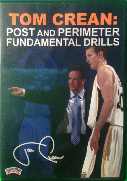 Post Perimeter Fundamentals by Tom Crean Instructional Basketball Coaching Video