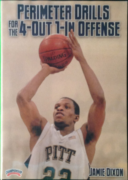 Perimeter Drills For The 4--out, 1--in Motion by Jamie Dixon Instructional Basketball Coaching Video