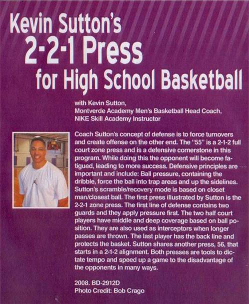 (Rental)-2--2--1 Press For High School Basketball