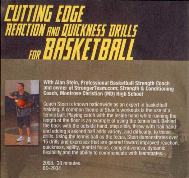 (Rental)-Cutting Edge Reaction & Quickness Drills For