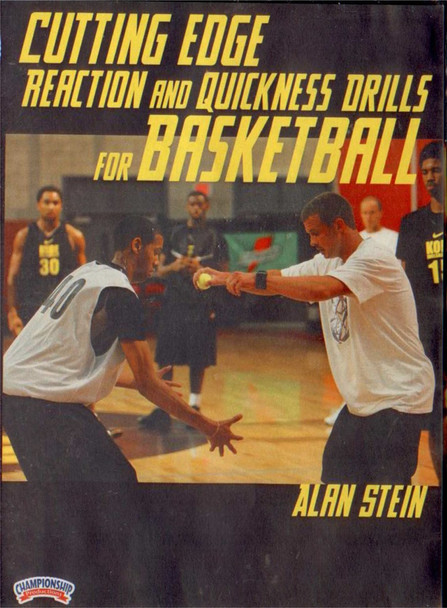 Cutting Edge Reaction & Quickness Drills For by Alan Stein Instructional Basketball Coaching Video