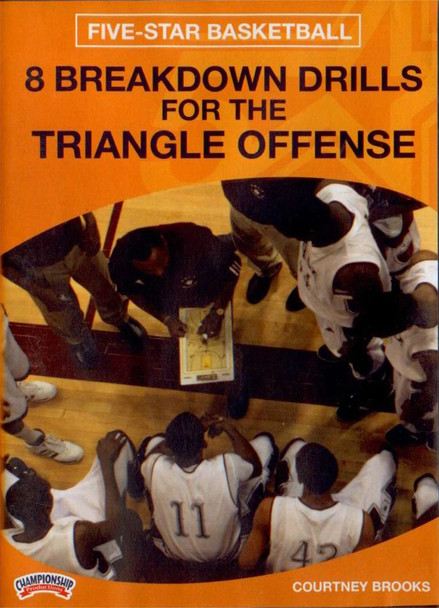8 Breakdown Drills For The Triangle Offense by Courtney Brooks Instructional Basketball Coaching Video