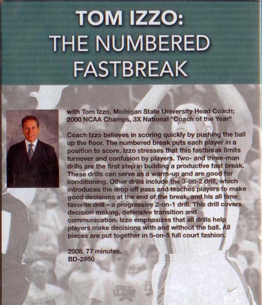 (Rental)-The Numbered Fastbreak