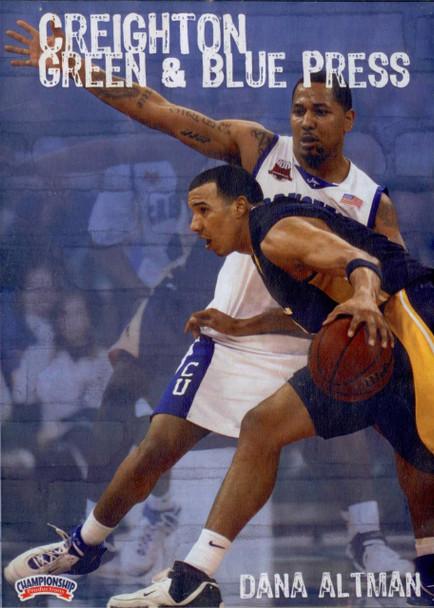 Creighton Green & Blue Press by Dana Altman Instructional Basketball Coaching Video