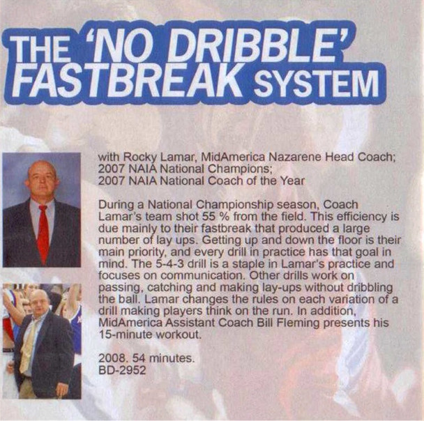 (Rental)-The ' No Dribble' Fastbreak