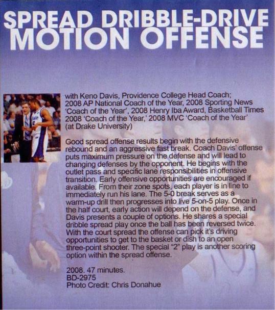 (Rental)-Spread Dribble--drive Motion Offense