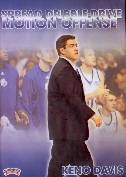 Spread Dribble--drive Motion Offense by Keno Davis Instructional Basketball Coaching Video