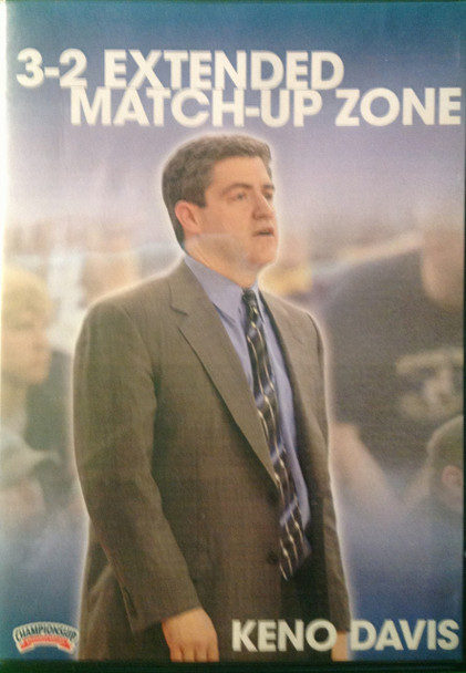 3--2 Extended Match--up Zone by Keno Davis Instructional Basketball Coaching Video