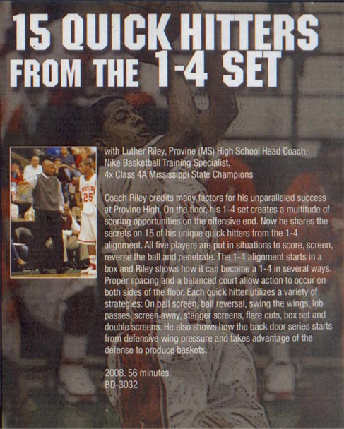 (Rental)-15 Quick  Hitters From The 1-4 Set