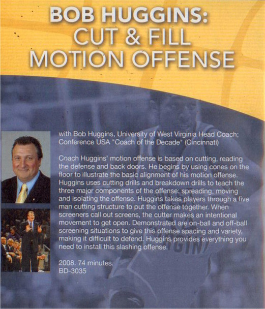 (Rental)-The Cut & Fill Motion Offense