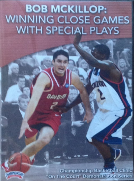 Winning Close Games With Special Sets by Bob McKillop Instructional Basketball Coaching Video