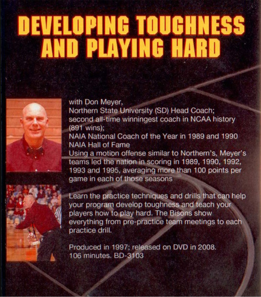 (Rental)-Developing Toughness & Playing Hard