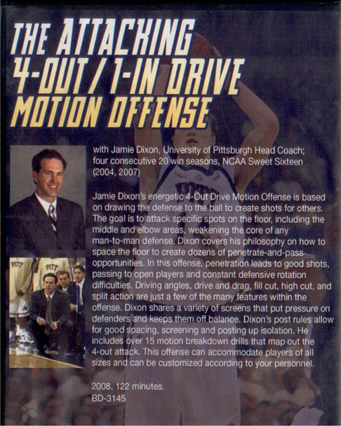 (Rental)-The Attacking 4--out 1--in Drive Motion Offense