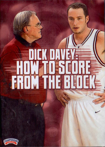 How To Score From The Block by Dick Davey Instructional Basketball Coaching Video