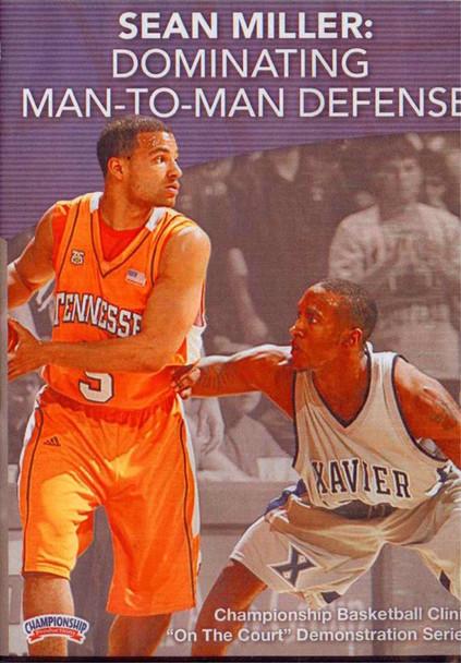 Dominating Man To Man Defense by Sean Miller Instructional Basketball Coaching Video