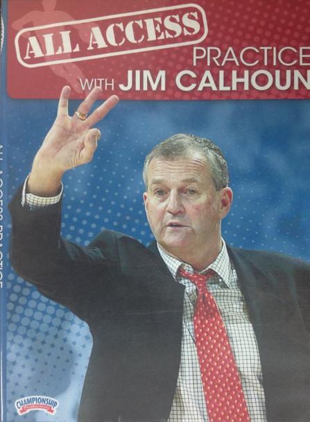 All Access: Jim Calhoun by Jim Calhoun Instructional Basketball Coaching Video